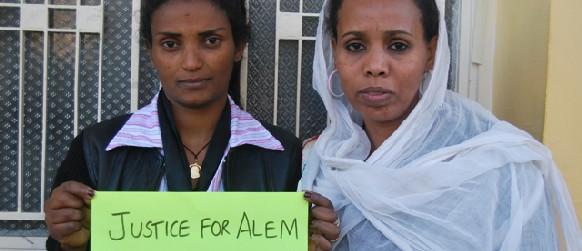 Dos trabajdoras domésticas del Líbano piden justicia para Alem, tras su suicidio