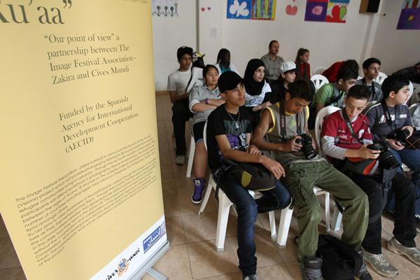 Chavales beneficiarios del proyecto de Cives Mundi